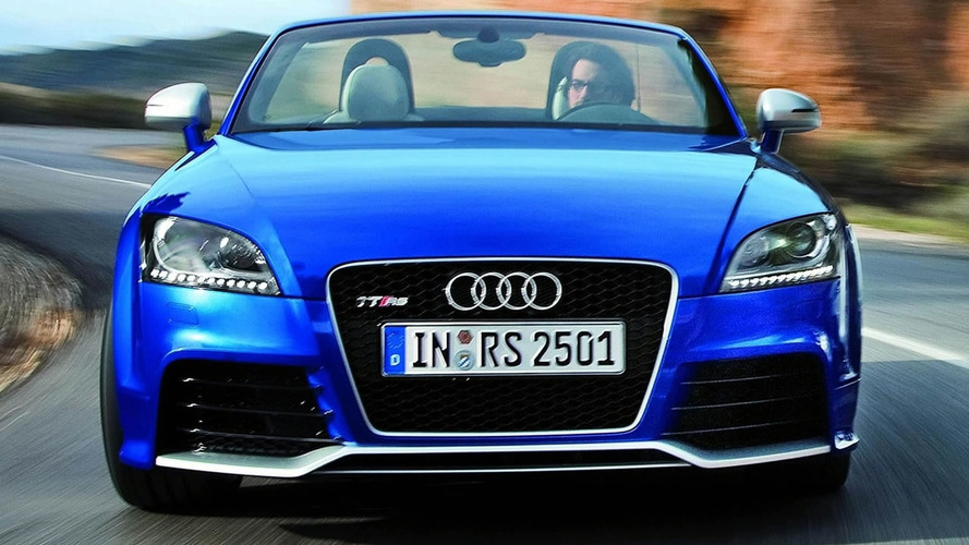 2010 Audi TT RS Officially Unleashed with Well Over 300bhp