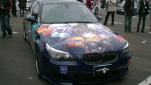 BMW M5 turned into manga car