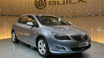 Buick Excelle for China Revealed - Based on Opel Astra