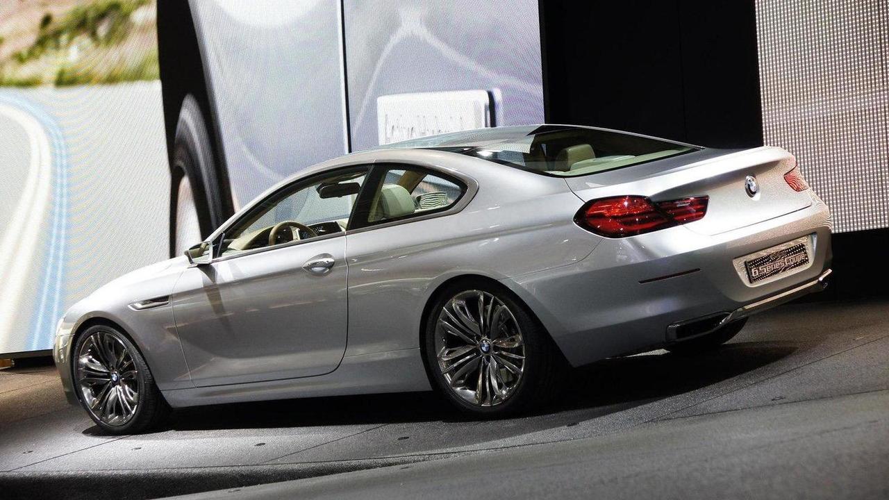 BMW Concept 6 Series Coupe live in Paris 30.09.2010
