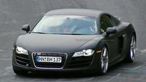 Audi R8 V10 spy photos