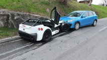 Brand new Donkervoort D8 GTO wrecked after just one day
