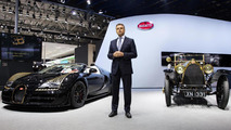 Bugatti Veyron Grand Sport Vitesse Black Bess brings a golden glow to Beijing