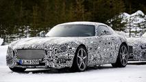 Mercedes-Benz AMG GT spied winter testing