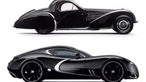 Bugatti Type 57 Atalante Concept and the Gangloff Concept