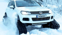 Volkswagen Snowareg is the ultimate in winter mobility