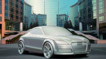 Audi TT Sculpture Travels to Beijing
