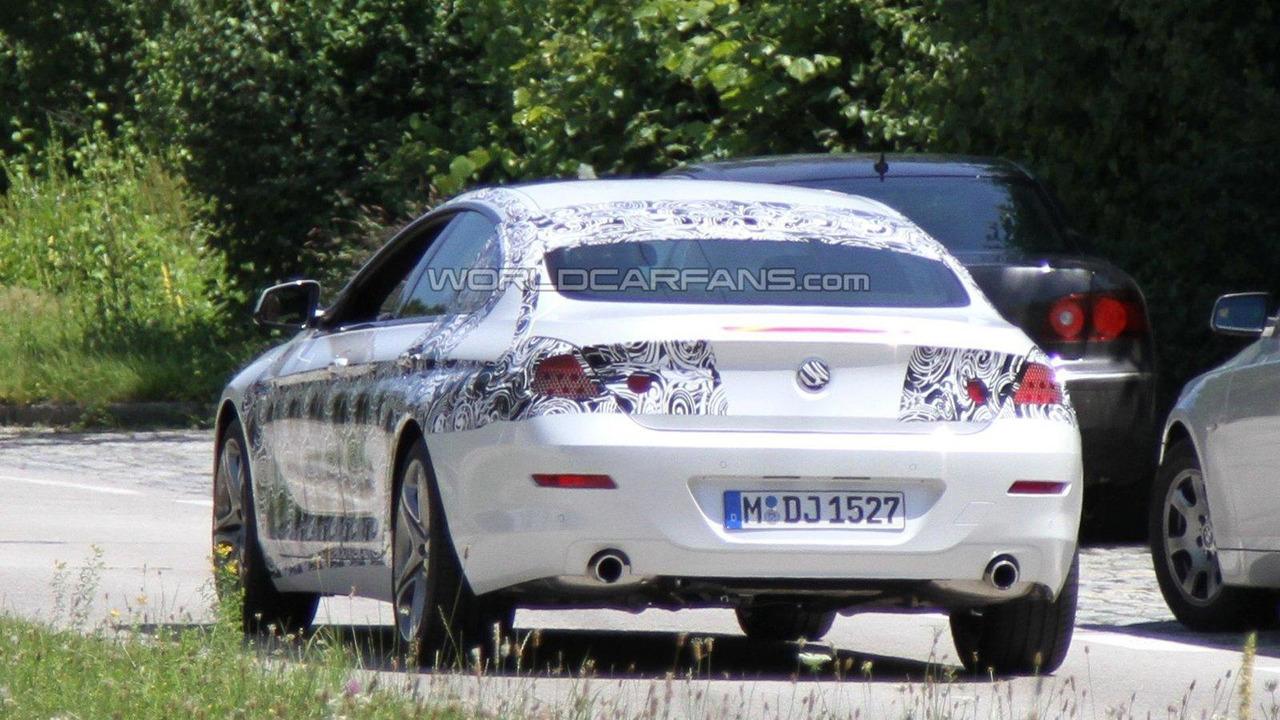 BMW 6-Series 4-door Gran Coupe spy photos in Munich 29.06.2011
