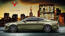 Volvo S90 Coupe render