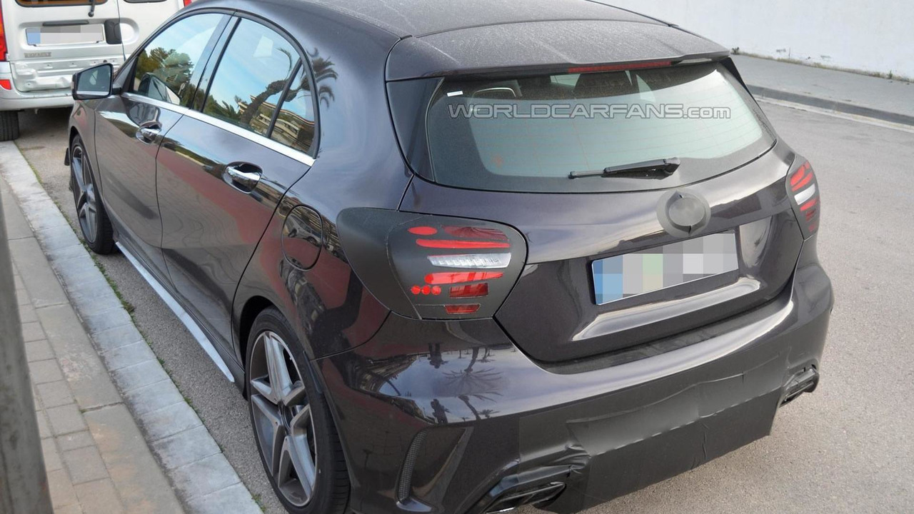 2016 Mercedes-Benz A45 AMG spy photo