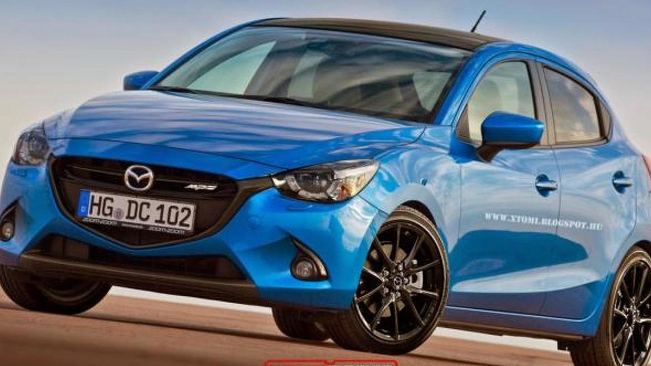 2015 Mazda2 MPS render