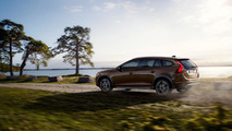 Volvo V60 Cross Country goes up against ultra runner, mountain biker and paraglider [video]