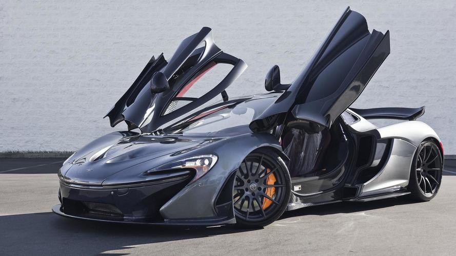 McLaren P1 with Flintgrau Metallic paint looks stunning (64 photos)