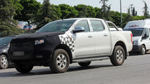 Ford Ranger facelift spied for the first time