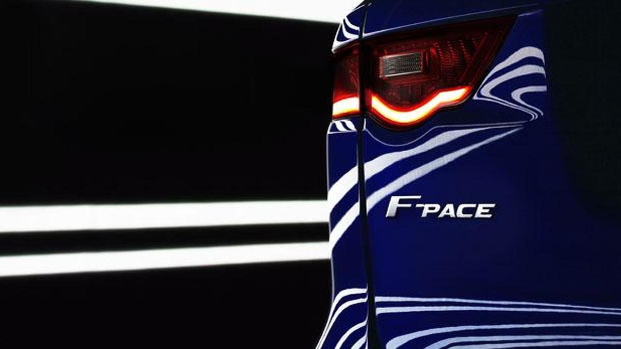 2016 Jaguar F-Pace teaser