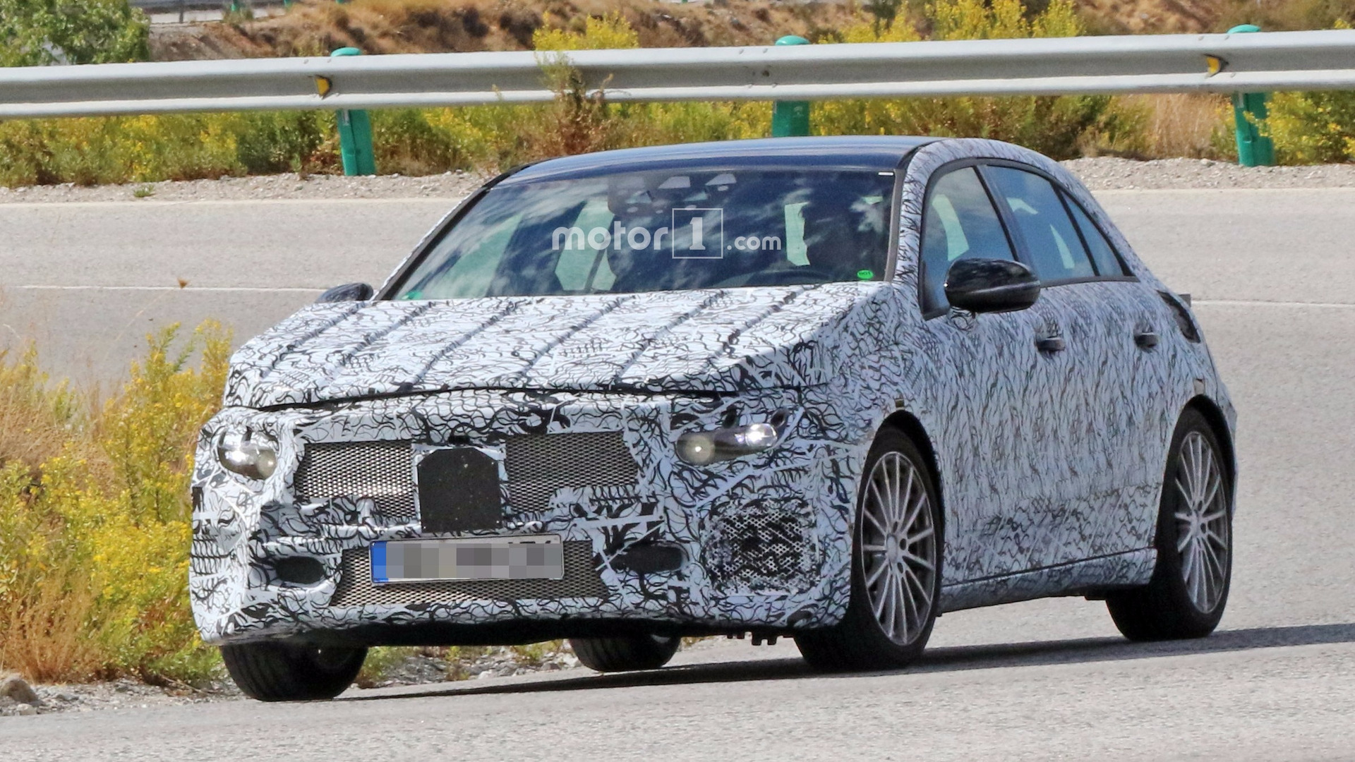 Hot 2018 Mercedes A-Class prototype might be the A40