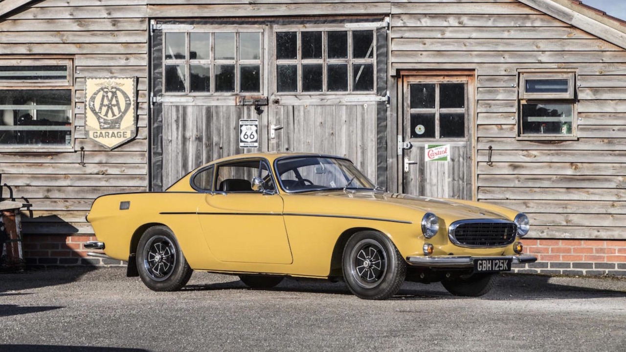 1972 Volvo P1800E Auction