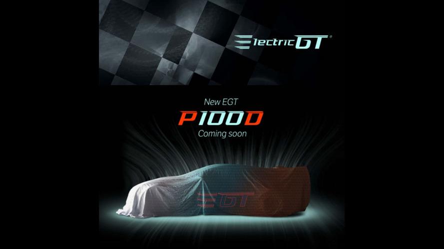 Electric GT Tesla racing series teases more powerful P100D