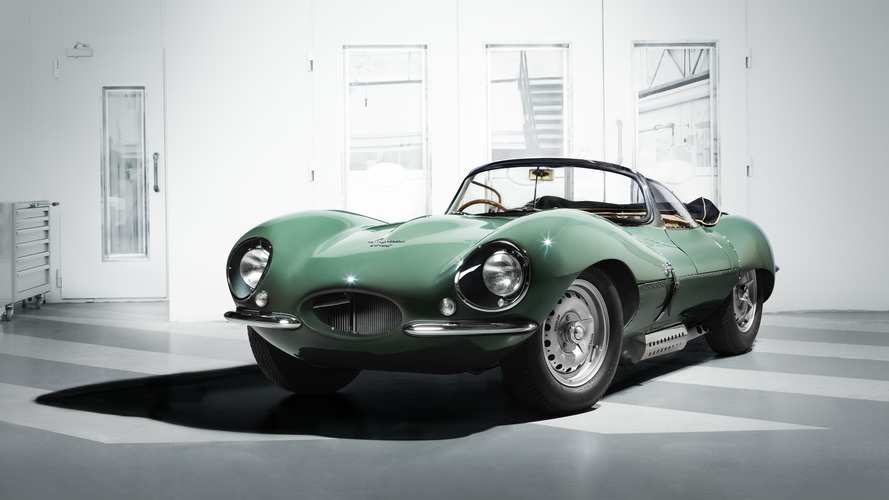 Jaguar XKSS isn't actually from the '50s, but it might as well be