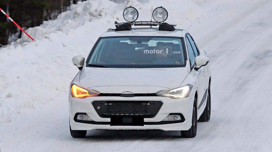 SEAT Ibiza spied dressing as Hyundai i20 for cold-weather testing