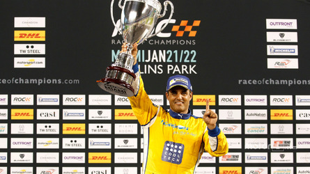 Montoya takes debut Race Of Champions win