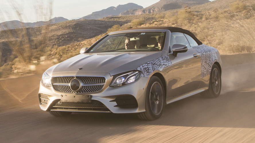 2018 Mercedes-Benz E-Class Cabriolet First Ride: The makings of a topless beauty