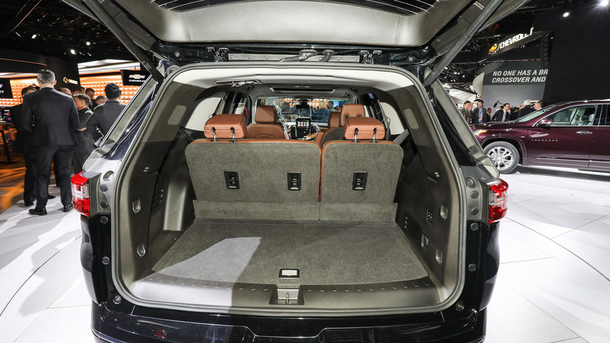 Gmc Acadia Towing Capacity >> 2018 Chevy Traverse grows from midsize to fullsize