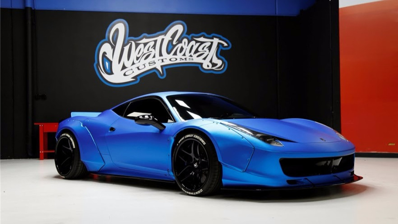Sorry, Beliebers - pop star's custom Ferrari sells at auction