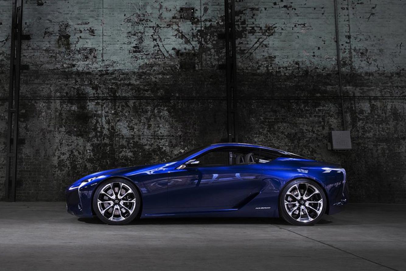 Lexus Will Build the LF-LC Super Coupe