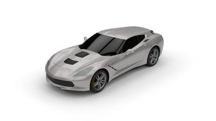 Chevy Corvette gets transformed into a shooting brake