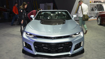 2017 Chevy Camaro ZL1 Convertible live at New York Auto Show 2016