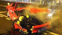 Rare Ferrari 575M Superamerica meets its doom