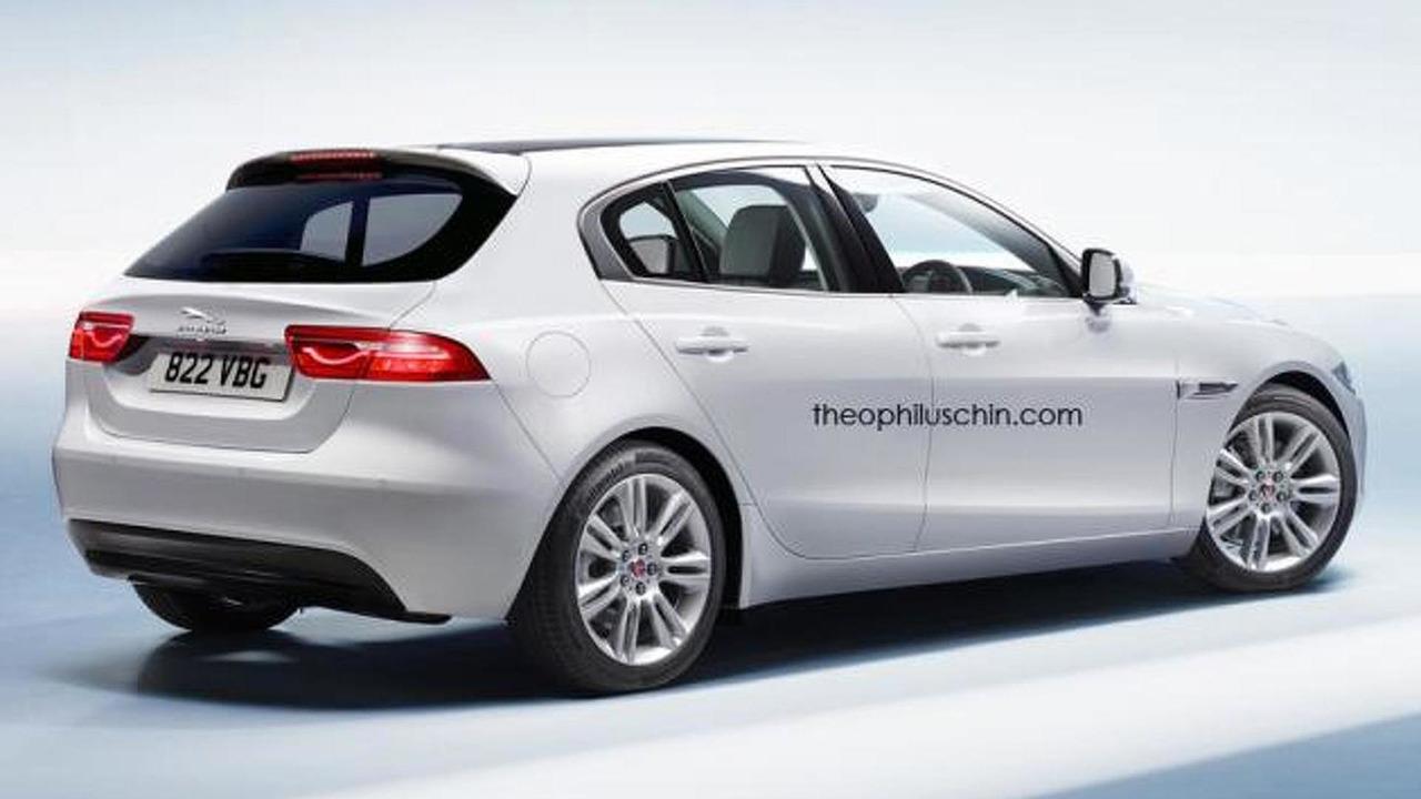 Jaguar XD render