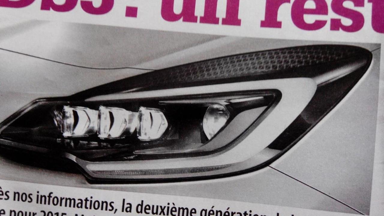 2015 Citroen DS3 facelift