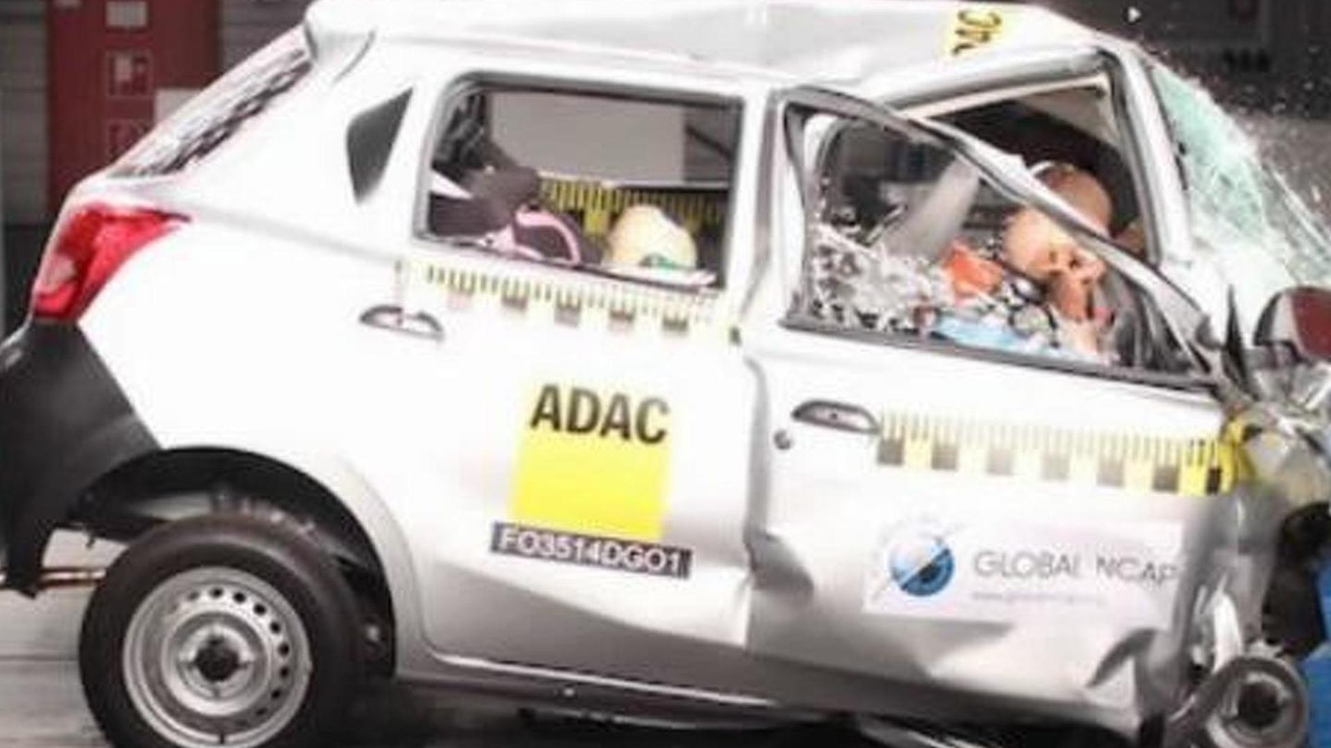 Datsun Go and Maruti Suzuki Swift get shameful zero star rating in Bharat NCAP crash test