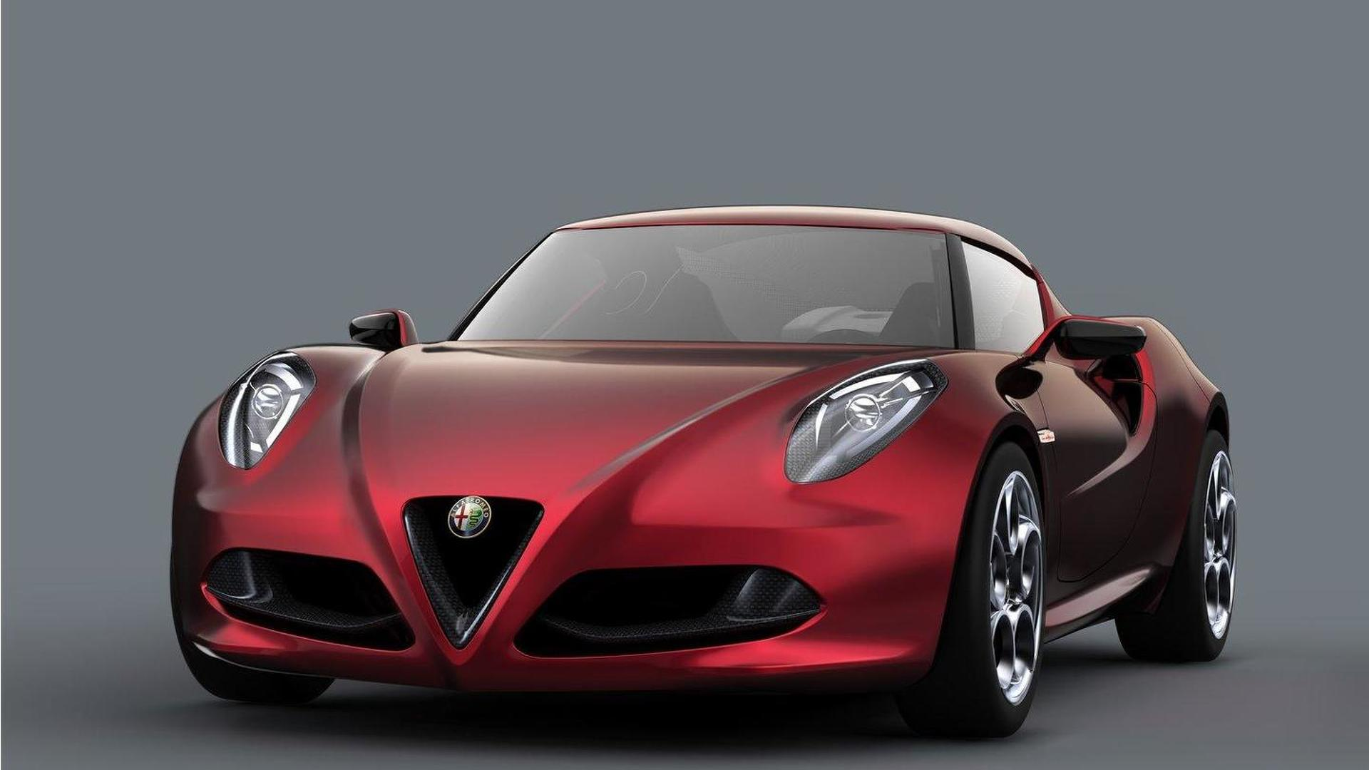 Alfa Romeo 4C will be sold in U.S.