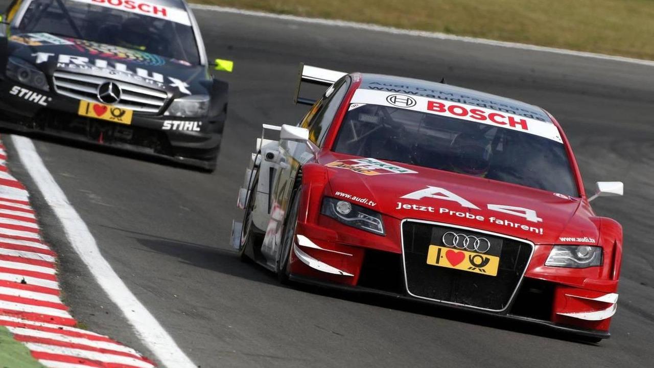 Oliver Jarvis (GBR), Audi Sport Team Phoenix, Audi A4 DTM - DTM 2009 at Brands Hatch, 06.09.2009 Fawkham, England