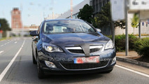 Opel Astra 5-door post reveal prototype on the street