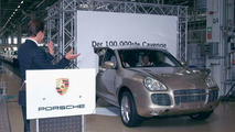 100,000th Porsche Cayenne rolls off production line