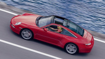 New Porsche 911 Targa artist rendering