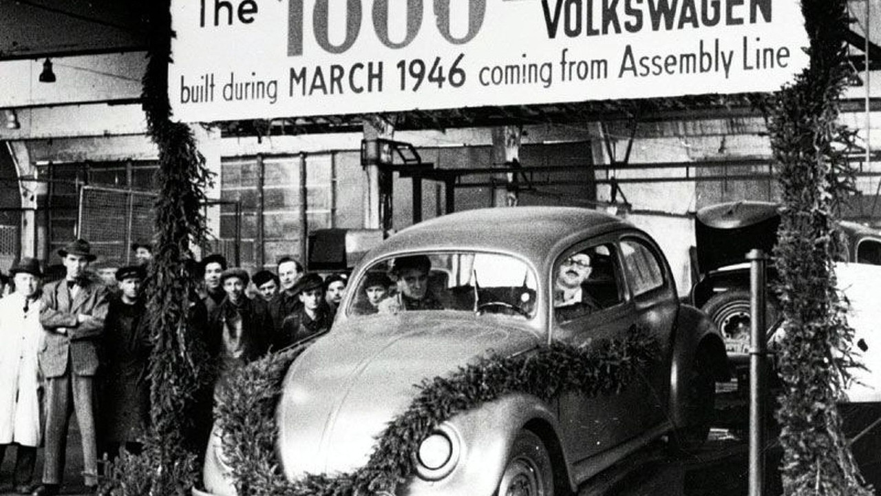 British Military handover of VW 1949