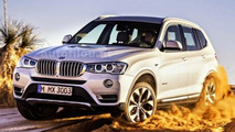2014 BMW X3 facelift leaked?
