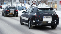Mercedes-Benz C-Class Estate spied once again winter testing