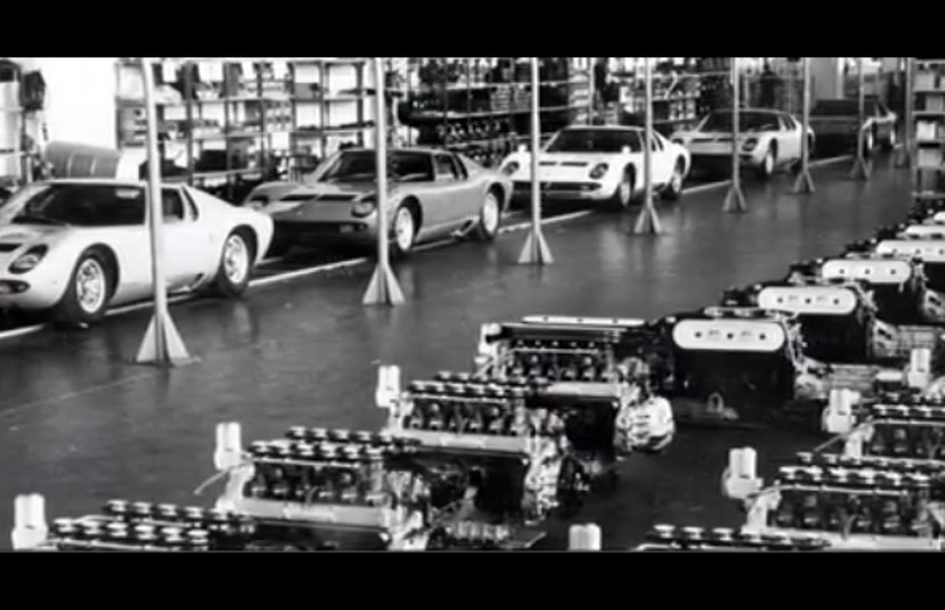 Lamborghini 50th Anniversary Celebrated in Video
