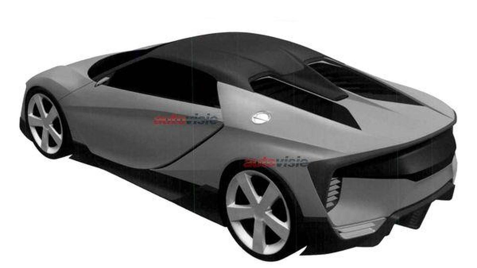 Baby Honda NSX believed to be