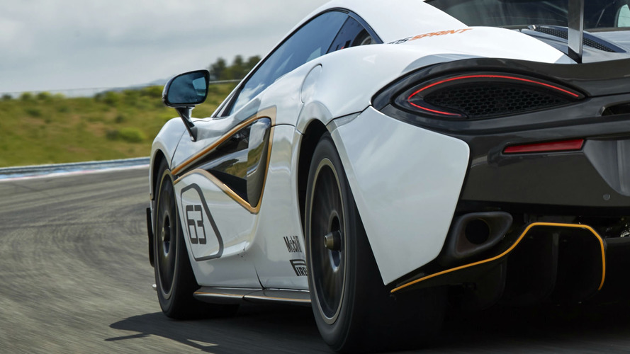 McLaren 570S Sprint shows us its hips before Goodwood