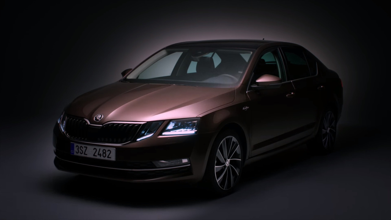 Skoda Octavia facelift