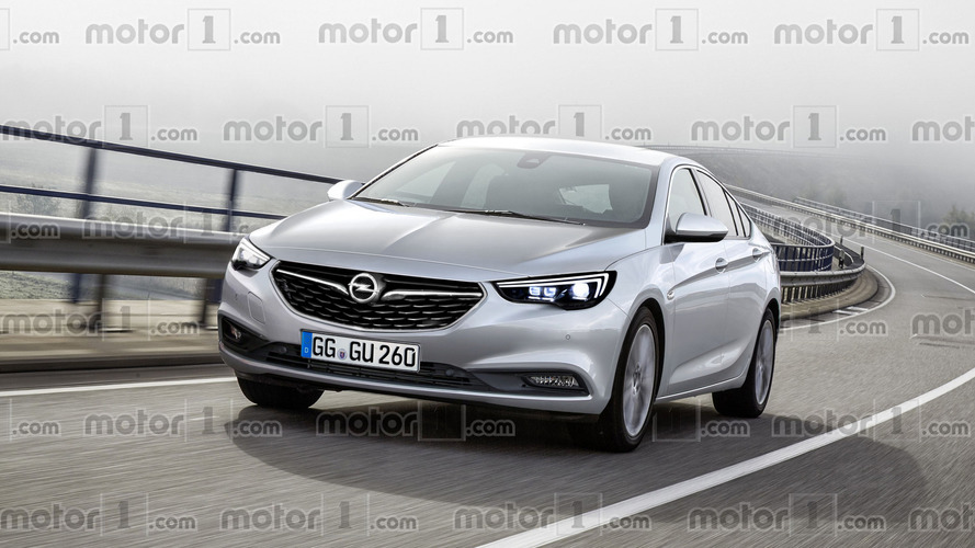 We imagine the sharper 2017 Opel Insignia Grand Sport