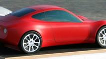 Clay model of Melkus RS2000