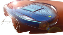 2003 Lotus Coupe Rendering